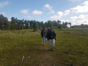 Udflugt med biolog Vicky Knudsen til Bøtøskoven i samarbejde med Politiken Plus.
